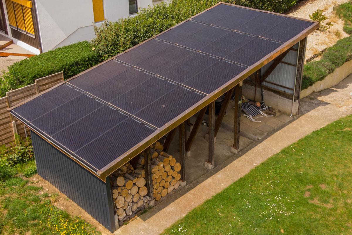 Installation photovoltaïque intégrée - Swissolaire